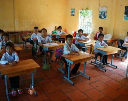 Rebuilding Collapse Primary School